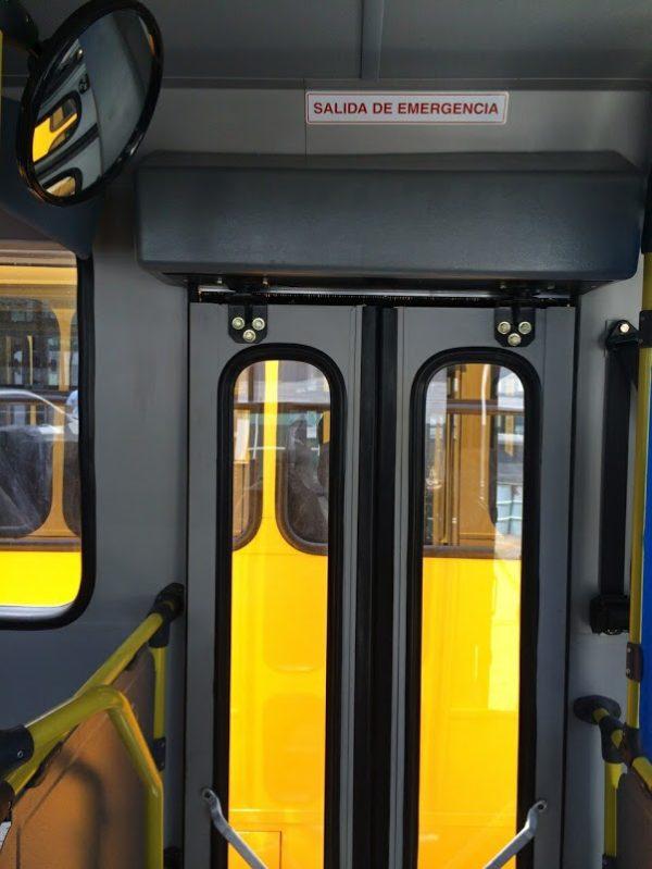 Salida de emergencia autobús de transporte - GO Transportes