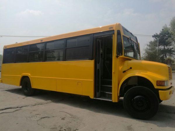 Autobús transportes escolares - GO Transportes