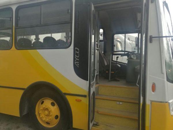 Entrada autobús escolar - GO Transportes
